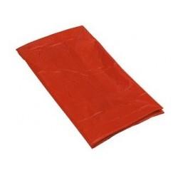 SAC TOILE PLASTIFIEE 64.5X93CM 120L ROUGE R.0700200R X1