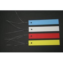 ETIQUETTE PVC A SUSPENDRE BLANC 20X120MM X1000