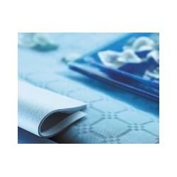 CHEMIN DE TABLE CELISOFT BLEU AZUR 0.30X24 R.280186 X4