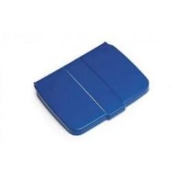 COUVERCLE SAC POUBELLE BLEU 110/130L POUR CHARIOT DE MENAGE R.0729191