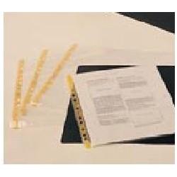 PORTE DOCUMENT ANTISTATIQUE TRANSPARENT A4 NON PERFORE R.41-093-0015