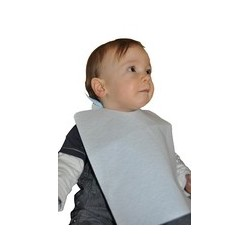 BAVOIR JETABLE ENFANT BLANC 45GR 245X375CM R.20.909 X1000