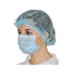 MASQUE JETABLE MEDICAL BLANC 2P R.60.101 20X50