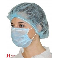 MASQUE JETABLE MEDICAL BLEU 2P R.60.102 20X50