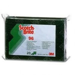 TAMPON SCOTCH BRITE VERT 3M96 R.11004 3X20