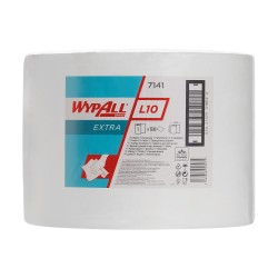 BOBINE WYPALL L10 BLANCHE 1500FTS 23,5X38 1P 25GR AIRFLEX R.7141 40X1