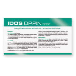 DETERGENT DESINFECTANT BACTERICIDE FONGICIDE IDOS DP PIN EN DOSE X250