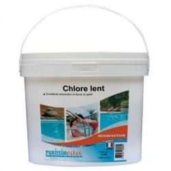 GALETS DE CHLORE LENT 250GR R.002200806 EN 25KG