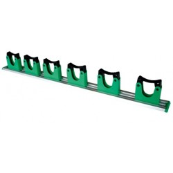 SUPPORT MURAL POUR MANCHES 70CM 6 ATTACHES R.11HO700