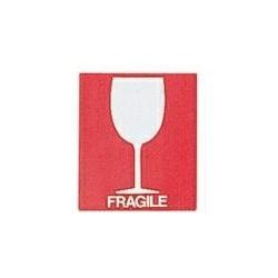 ETIQUETTE 73X105 FRAGILE+VERRE X1000