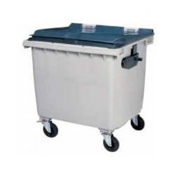 CONTAINER 1000L GRIS/GRIS 1370X1310X1050 SANS BARRE VENTRALE R.56660