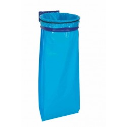 SUPPORT SAC POUBELLE 110L ECOLLECTO BLEU R.57075