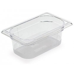 BAC GASTRONORME COPOLYESTER 1/9 176X108X100MM 0.7L TRANSPARENT R.7571